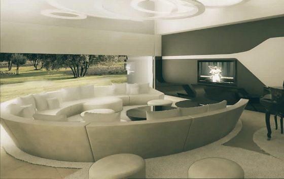 Interior Rumah Mewah Ronaldo
